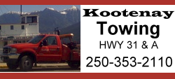 Towing and Services, Kootenay Lake B.C.